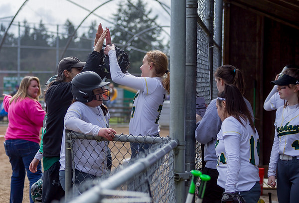 Set one: Vashon Island High School Fastpitch v Coupeville