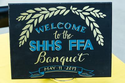 2017 SHHS FFA BANQUET