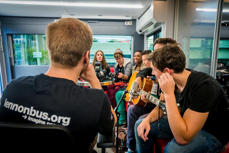 2013_09_21, Swazoon, Amsterdam, Netherlands, NL, Student Recording Session, JLETB, Recording Session, Session, europe.lennonbus.org,