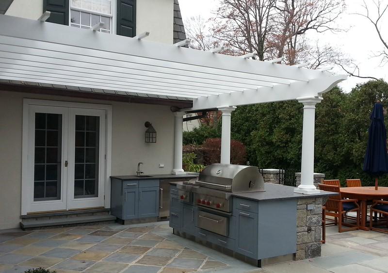 185 - Bronxville NY - Kitchen & Pergola