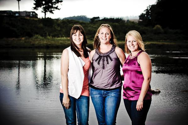 Kelsey and Friends (Portrait Photography, Natural Bridges, Santa Cruz, California)