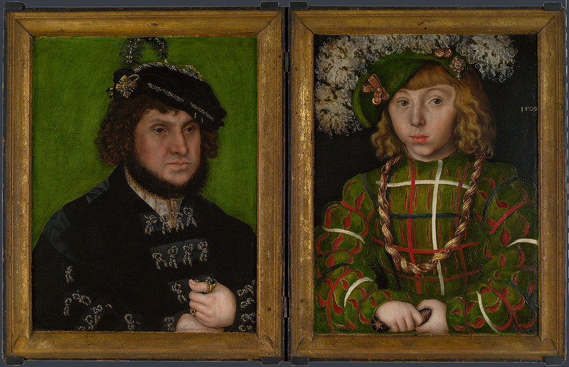 Diptych: Two Electors of Saxony