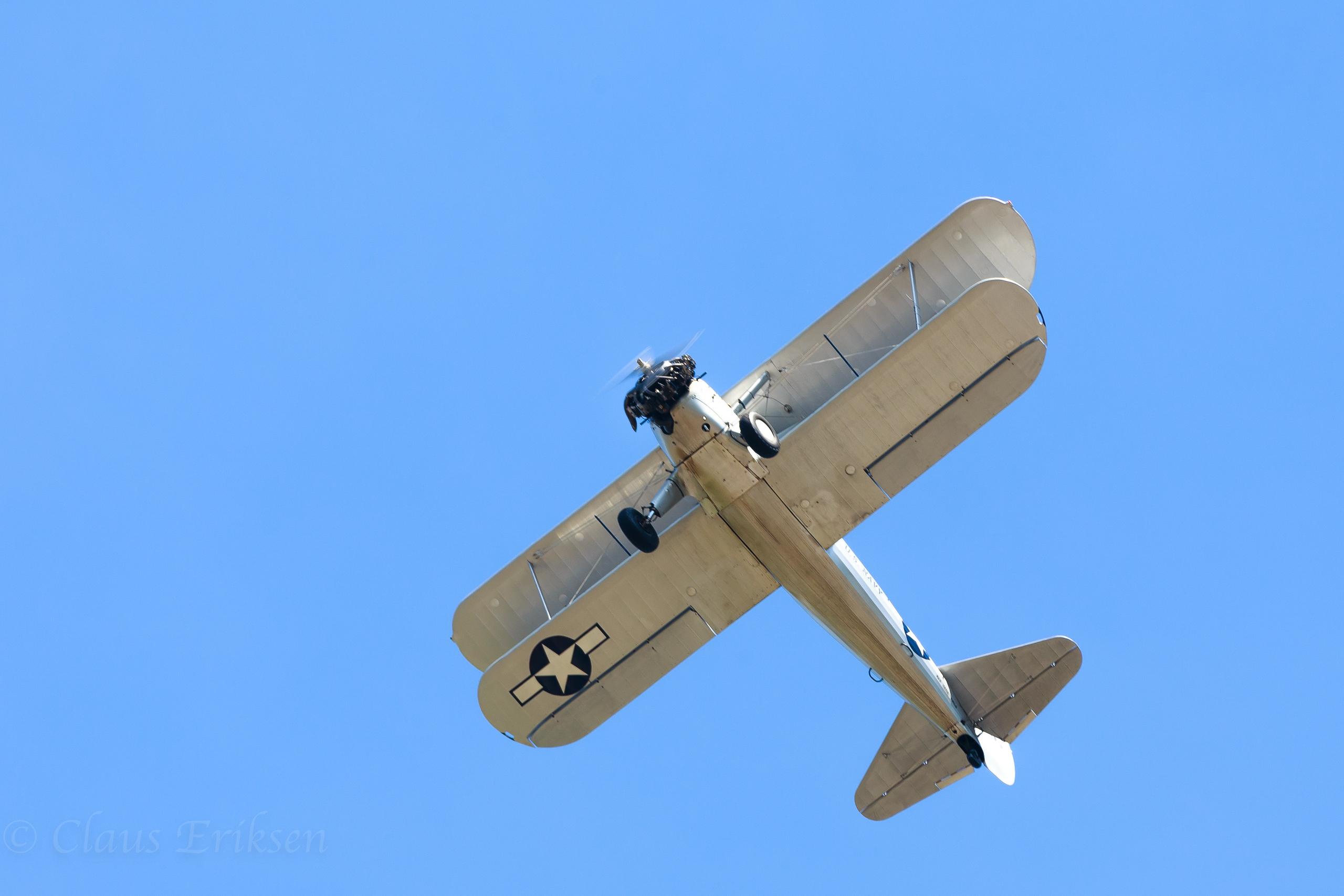 Bottom of Stearman