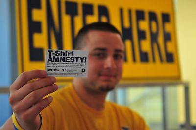 27858 WVU Tee Shirt Amnesty September 2011