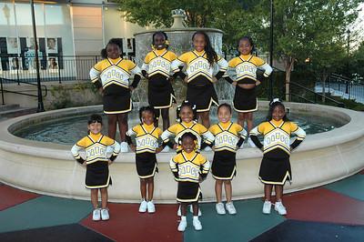 Bulldogs 2nd Grade Cheerleaders Oct 2007