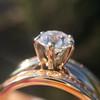 1.31tcw Round Brilliant Diamond Wedding Set, Est to be H, SI2      7