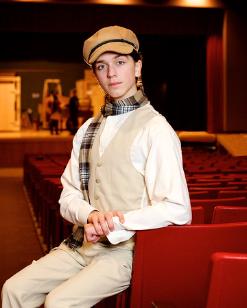 """NBHS """"Fiddler on the Roof"""" Cast Member Photos - Individual"""