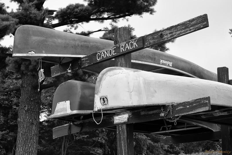 Canoe Rack