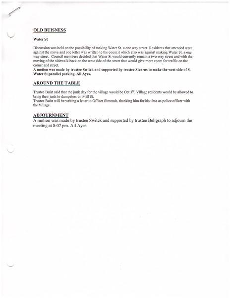 September 2015 Meeting Minutes
