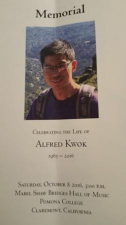 Alfred Kwok Memorial - Oct 8 2016