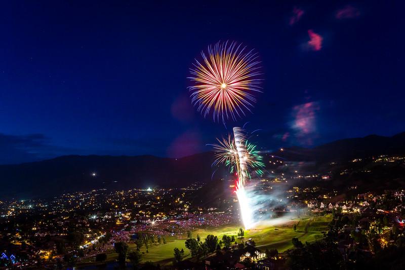 Eaglewood Fireworks 2019