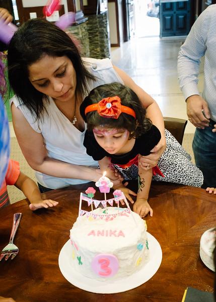 Anika's 3rd Birthday