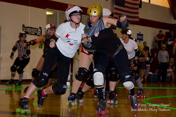 AZRD Marilyns Bout - Mansons v Monroes 9-2013