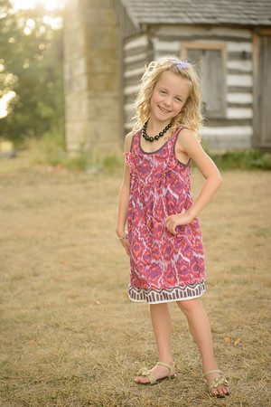 07-19-12.  Photo shoot with Camille.  She'll be 6 next week.