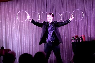 2016 -  Show    Magician Eric Giliam