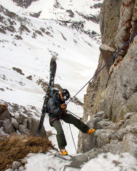 Backcountry Skiing The Pfeifferhorn