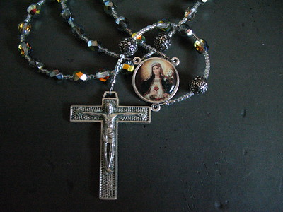 immaculate heart of mary rosary