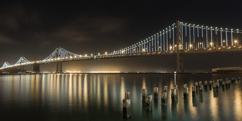 Bay Bridge Light Show.JPG