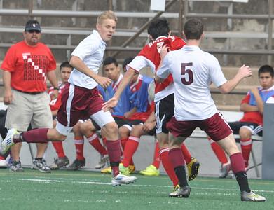 Var. Boys Soccer: Rowlett vs N. Garland
