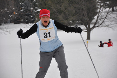 2011-02-05 White Pine Stampede: 40k course and finish