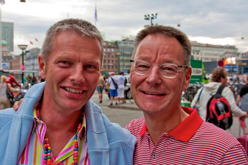 Flemming and Erik