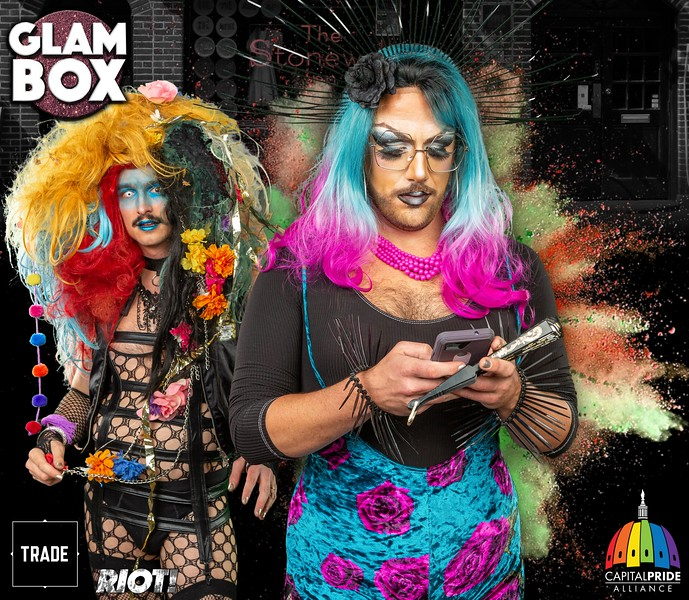 Glambox Booth at Echostage - Pride 2019