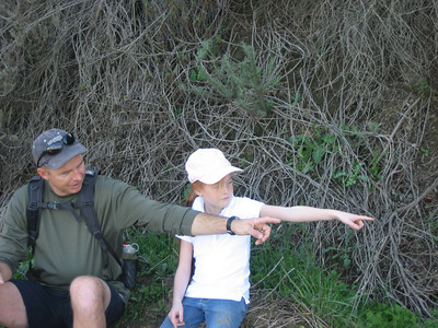 Whittier Hills Hike 2007