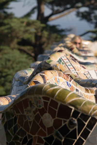 Barcelona 2006. Parc Guell.