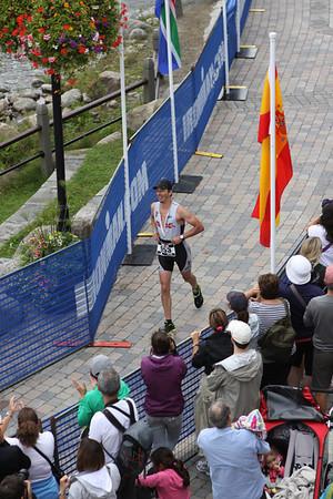 2012 Ironman Mont Tremblant - Run Finish Line