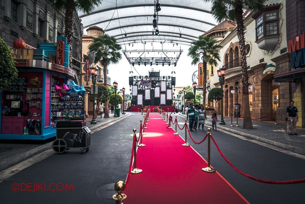 Halloween Horror Nights 7 Survival Guide - Opening Scaremony Red Carpet