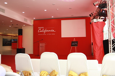 Ferrari California Launching