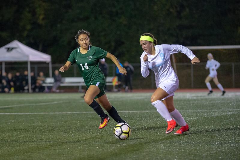 THS Girls Varsity Soccer vs Lakeridge