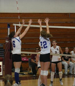 Waterford Varsity Volleyball V. East Lyme, ECC's 10/27/08 (L 1-3)