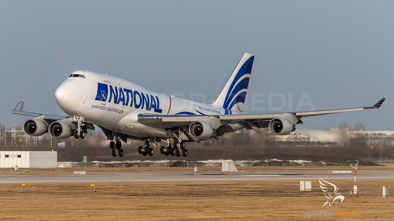 National Airlines / Boeing 744-412(BCF) / N702CA