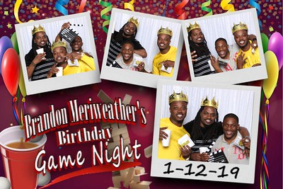 Brandon Meriweather's Birthday Game Night