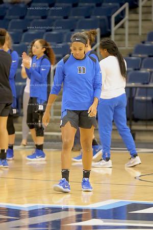 Duke vs ODU women basketball 2017