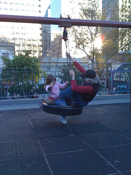 Swinging in Chinatown