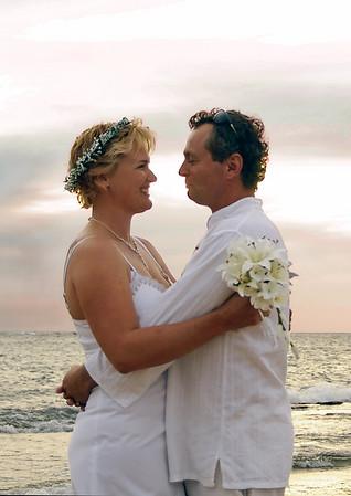 Mel and Damien Wedding