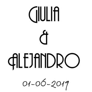 Giulia & Alejandro 01.06.19