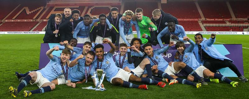 Middlesbrough Under 18s vs Manchester City Under 18s