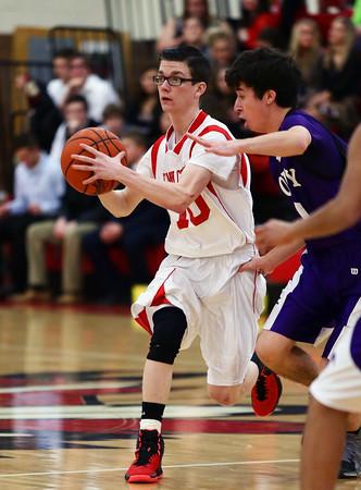 2015 Coudersport Boys JV Basketball @ Cameron County