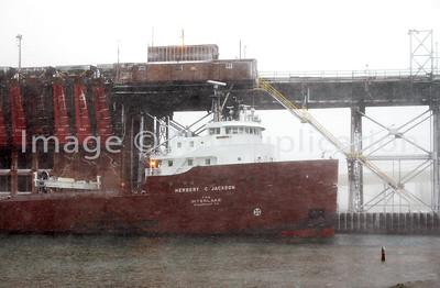 1-SS HERBERT C. JACKSON: Marquette, MI-Morning Hours, Sat. 04/07/2007