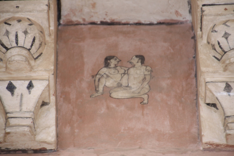 Kama Sutra detail at Amber Fort