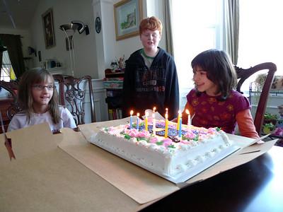 Julia's 10th Birthday