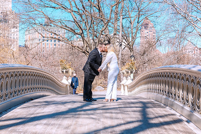 Our Central Park Wedding