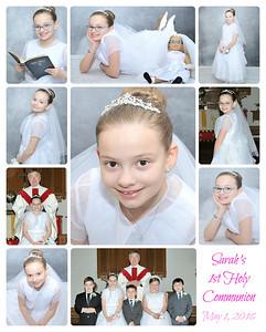 Sarah's Communion 2016