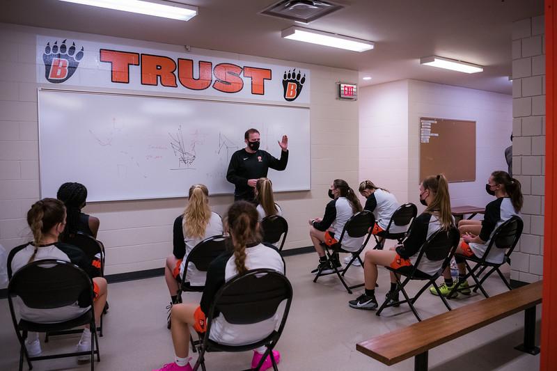 WBL Girls Varsity Basketball -V- Forest Lake 2021