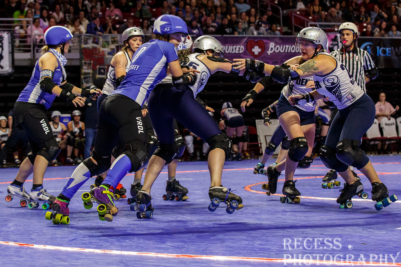 WFTDA 2017 Championships - Game 11 - VRDL vs Denver ©Keith Bielat