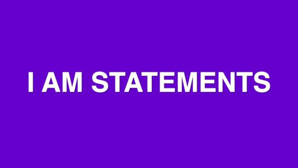 2020 GPGBC I Am Statement Series