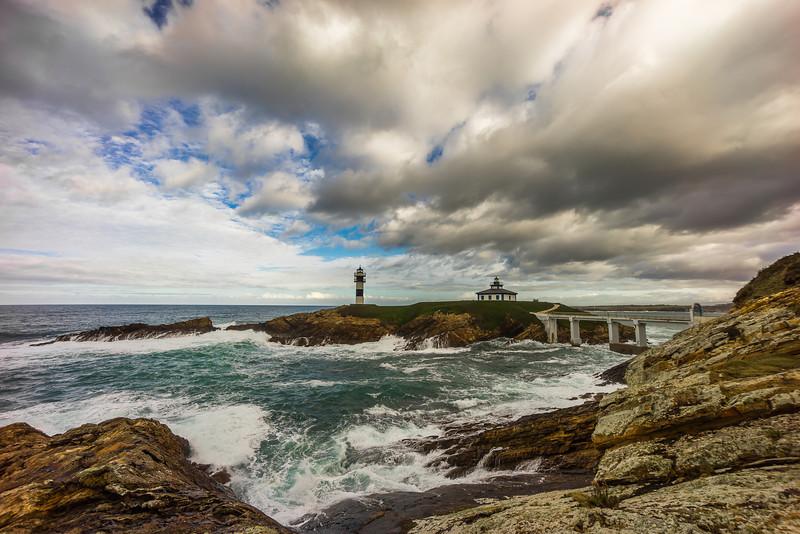 Isla Pancha en #Ribadeo #Galicia #Spain